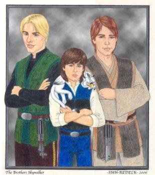 The Brothers Skywalker by SMH-REDELK