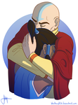 Tenzin And The Avatar pt. 2 by blindbandit5