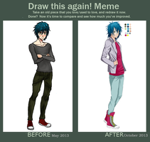 Before and After meme by Rainikloud