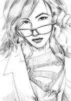 imaging supergirl by wallacedestiny