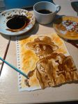 Portgas D Ace coffee painting by elilee23