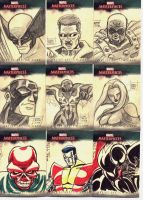 Marvel Sketch Cards Batch 2 by OptimusPraino