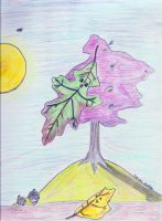 Leaf Person by IlluminatiOfTwilight