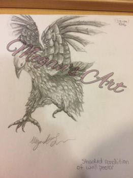Bird - Rendition sketch of poster - Not for sale by ForeverEryn