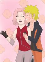 NaruSaku by JuliaJacobss