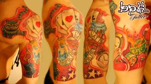 Alice in wonderland by BPS-TATTOO