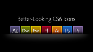 Better-Looking CS6 Icons by theIntensePlayer