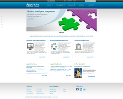 Apptricity Website 2011 by firefall