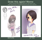 Meme: Before And After - Gi by RiRi-tann