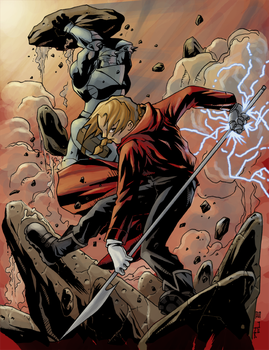 FMA- Two Brothers by Daystorm