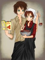 APH - Cooking by Didi-hime