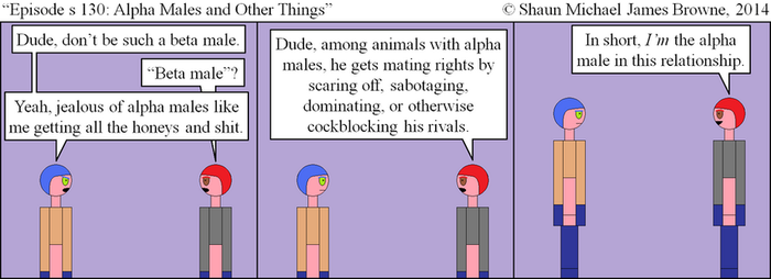 TABP s 0130 - Alpha Males and Other Things by the1smjb