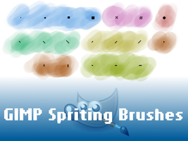 GIMP Spriting Brushes by PkGam