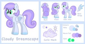 Cloudy Dreamscape Ref Sheet *outdated* by Cloudy-Dreamscape