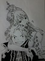 NaLu Drawing by nilsonpre