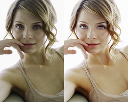 Mischa Barton Retouch by miseryloneliness