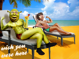 postcard to all my baes by Shreksicle