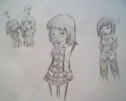 Unfinished doodles by kei-chan96
