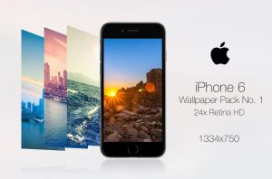 Retina HD Wallpaper Pack No. 1 - iPhone 6 / 6S by pddeluxe