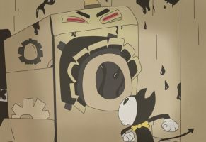 Bendy And The Ink Room by Gamerboy123456