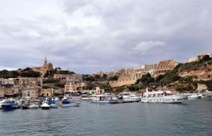 Church on Harbour by Pawlu22
