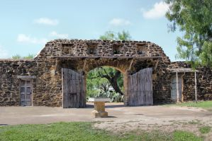 Mission San Jose 57 - Opened Gates by DamselStock