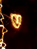 Light Painting-Heart by musicity