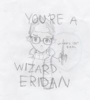 You're a wizard, Eridan by TereziNitram