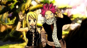 Natsu and Lucy by Reater20