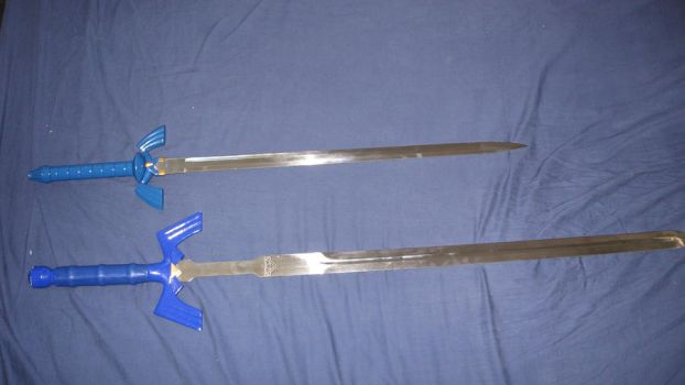 Master sword comparison by darkmaster13