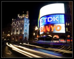 Piccadilly Circus by george-kay