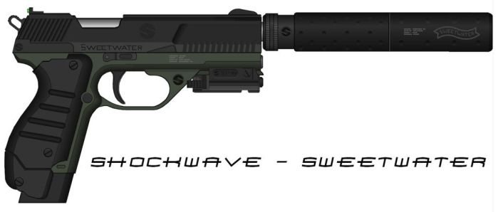 Sweetwater- Elite - 'Shellshock' Pistol by Shockwave9001
