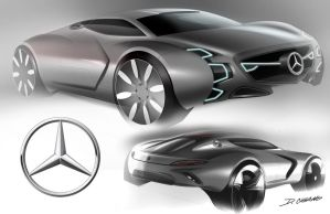 Mercedes Super Car by Dannychhang