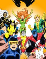 All-New All-Different X-Men by chimera335