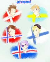 APH: 2P! Nordics by Jade-Mist