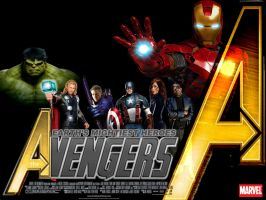 Wallpaper The Avengers Movie 3 by Alex4everdn