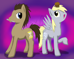 Doctor Whooves and Derpy too by TheEpicFailure