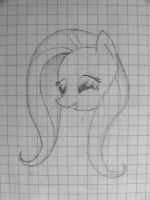 Exercise-book Fluttershy by Ap0st0l