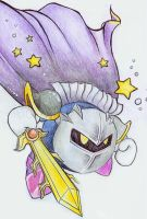 Meta Knight by Kasu-lemon