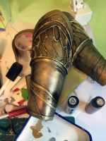 Painted Bracers - Loki by CourtneyBowen