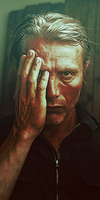 Mads Mikkelsen as Anthony Avery by sucharedpanda