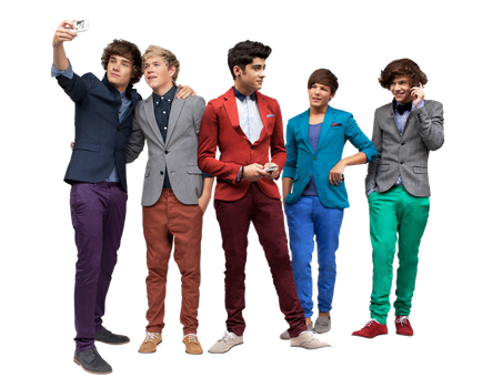 One Direction PNG by PushDesings