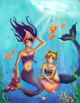 Pepper and Wanda as Mermaids by xonnie