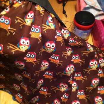 Owl Skirt by Voldenae