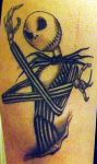 Jack Skellington Tattoo by markeverard