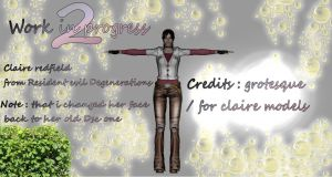 Claire Redfield Degeneration 2 by Therealmrox2