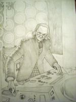 The 1st Doctor William Hartnell by ospreydark