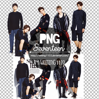 Seventeen PNG 1P ByWeiting1122 by weiting1122