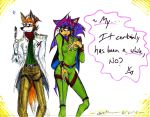 Fox and Sheila_Revised by IZZY-CHAN13