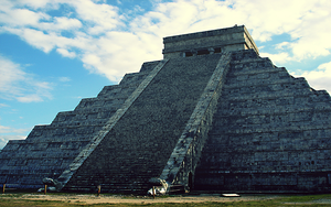 Chichen Itza Wallpaper by Benjigarner